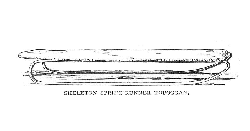 Skeleton Spring-Runner Toboggan