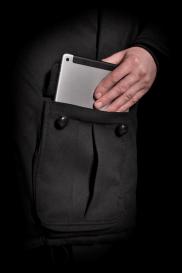 Cashmere-lined pocket
