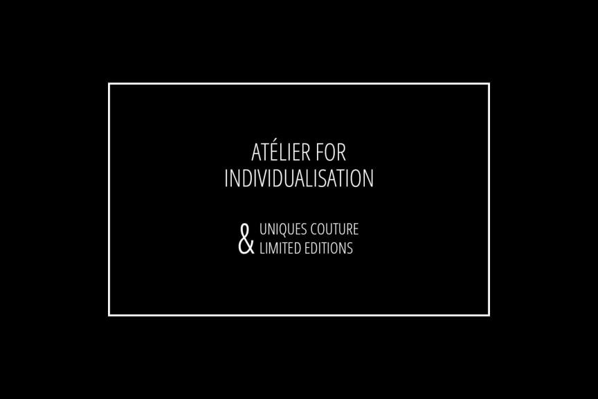 Atélier For Individualisation