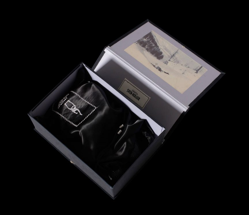 Stoffbezogene Gift Box