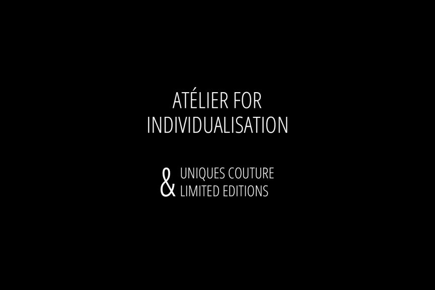 Atélier For Individualisation