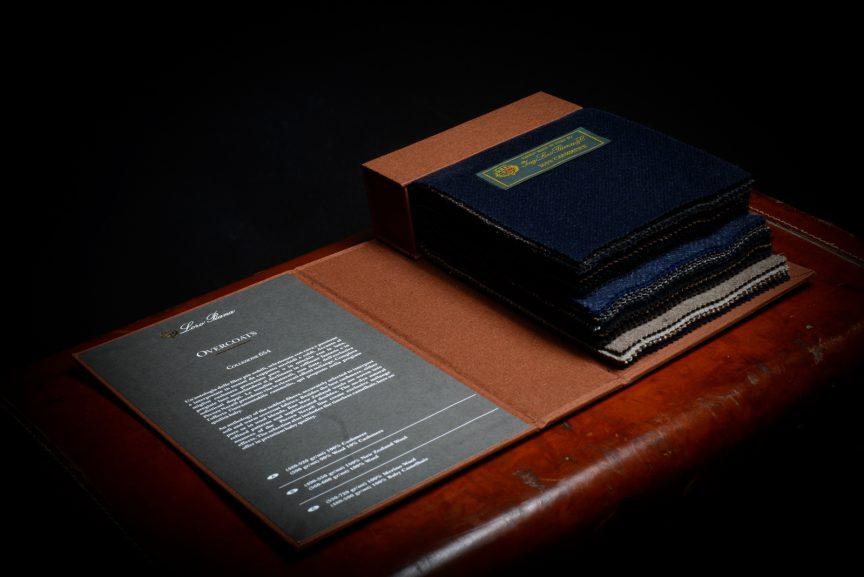 Loro Piana Overcoat Fabrics Book
