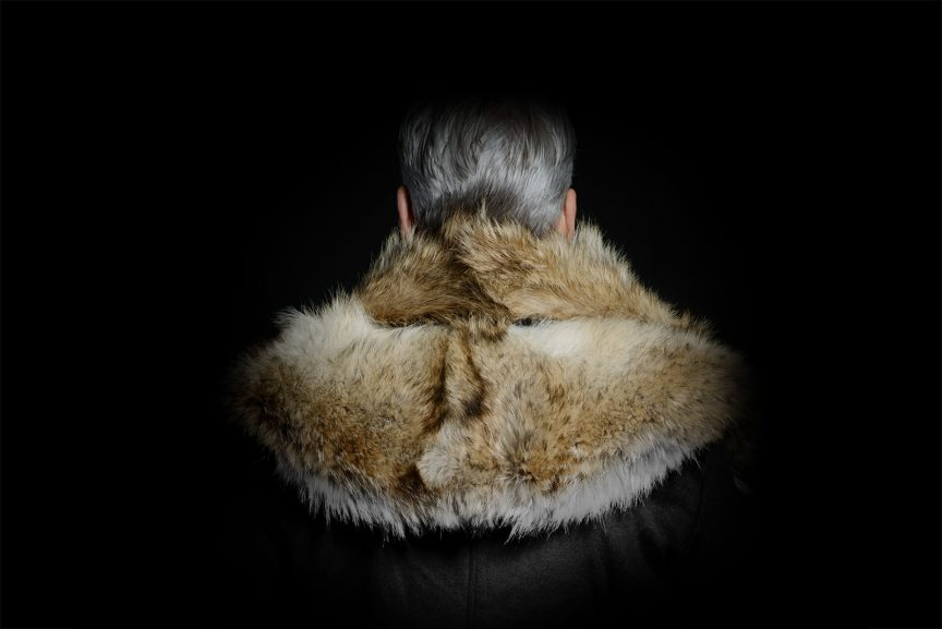 Casual jacket with Fur attached
