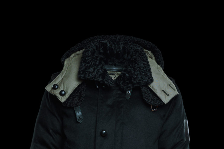 Reversible Parka with Persian Lamb Fur