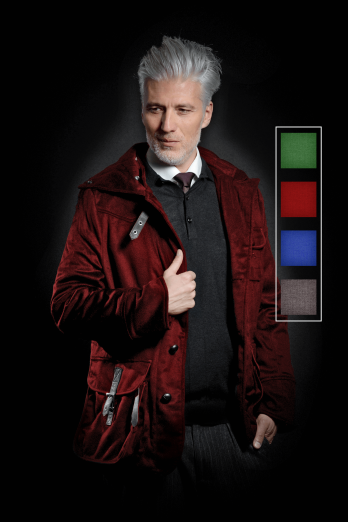 Casual Jacket S-H Cashmere Selection