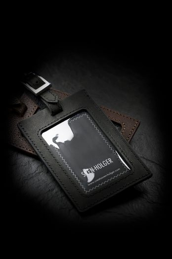 Calfskin Luggage Tag