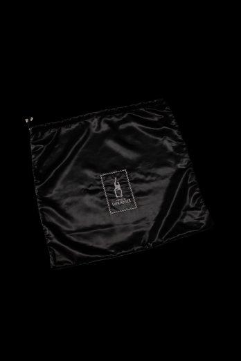 100% satin clothing bag