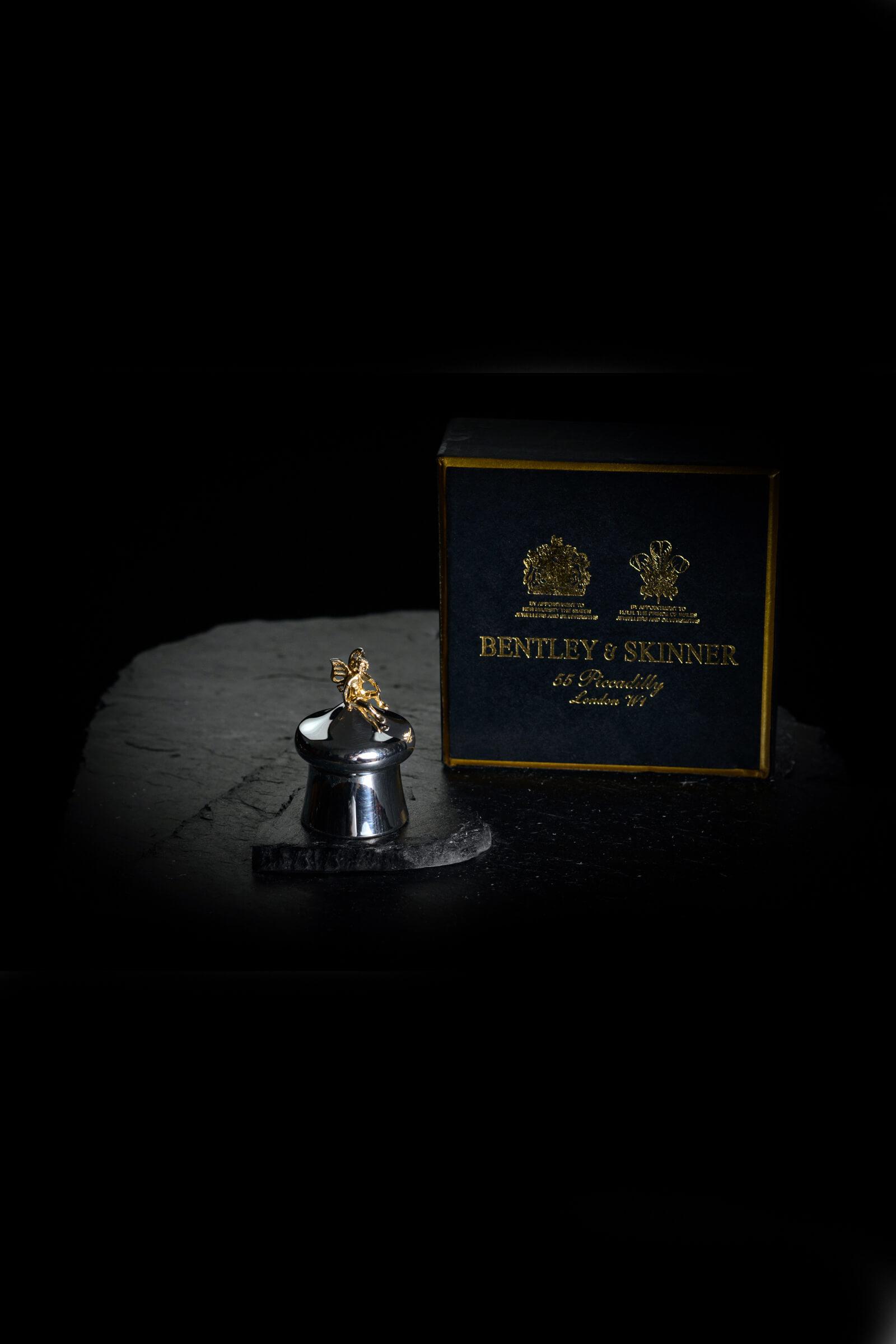 Geburts und taufgeschenk berliner goldengel sven for Bentley and skinner jewelry