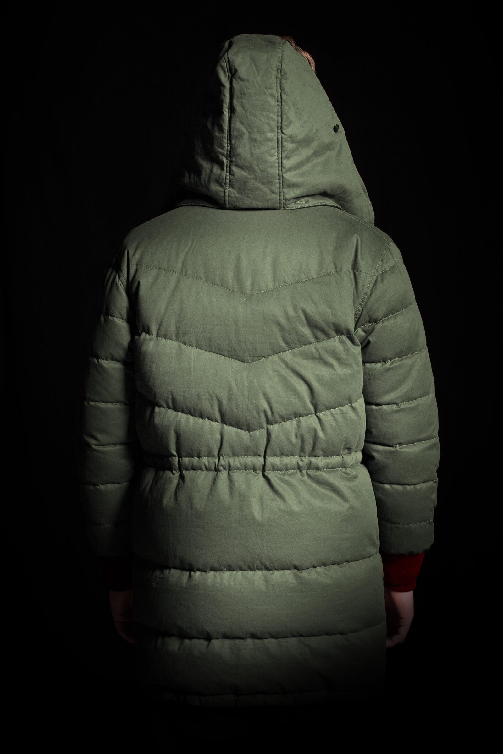 Parka Cotton side hood back