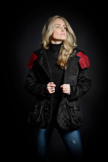 Casual Jacket Damen in Tiefschwarz
