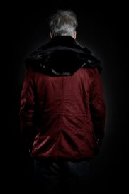 Casual Jacket in red-coloured S-H Cashmere