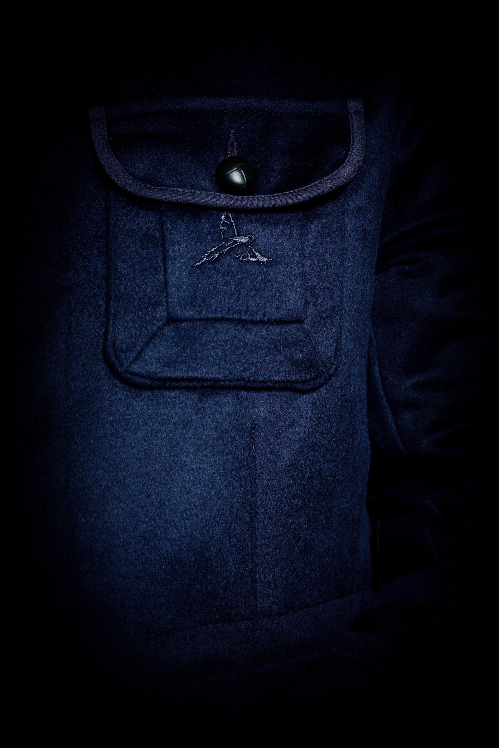Loro Piana Cashmere Casual Jacket Pocket