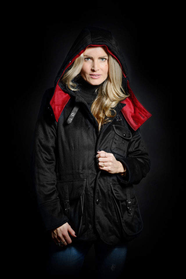 Women's Casual Jacket with hood attached
