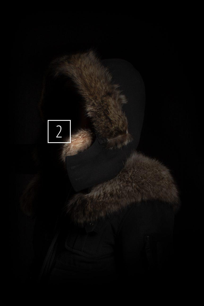 Casual Jacket Damen Kragenpelz Auswahl