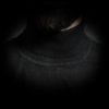 Rollkragen Pullover Herren Kragen Closeup