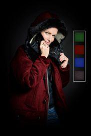 S-H Cashmere Parka Colour Customised