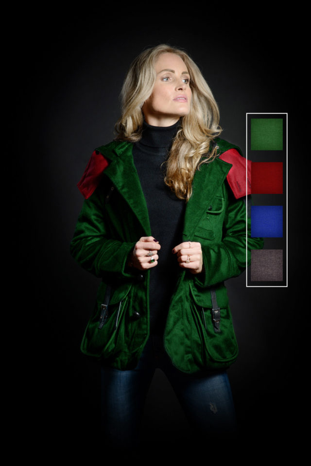 S-H Cashmere Casual Jacket Colour Customised
