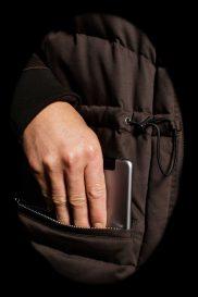Suvretta Cashmere Parka LEII with iPad Pocket