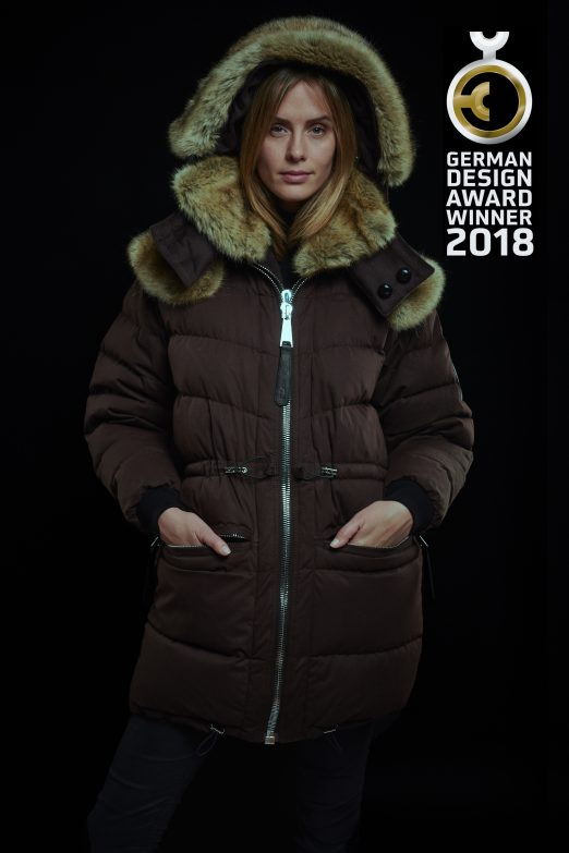 Cashmere Parka Chocolate Brown