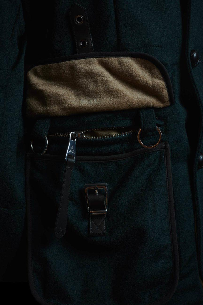ammunition-style pocket in iPad format